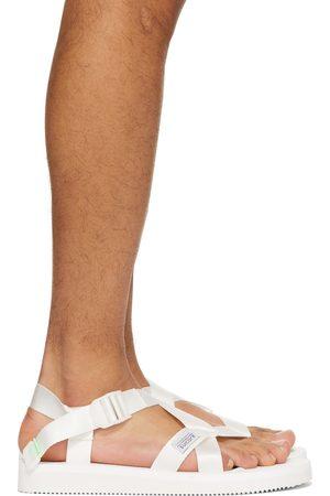 Suicoke Herren Sandalen - White CHIN2-CAB Sandals