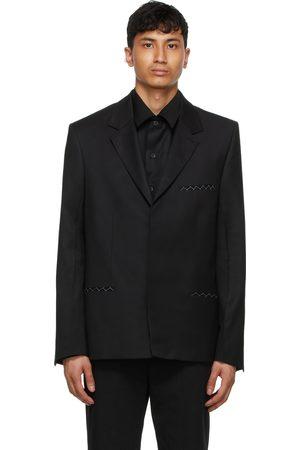 TOM WOOD Black Wool Soft Blazer