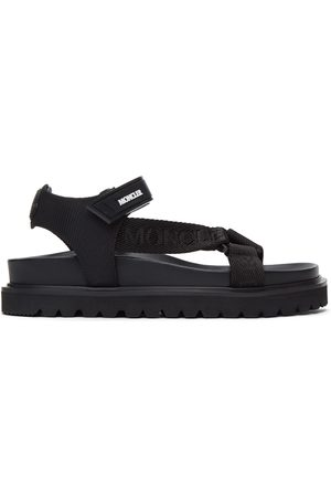 Moncler Black Flavia Sandals