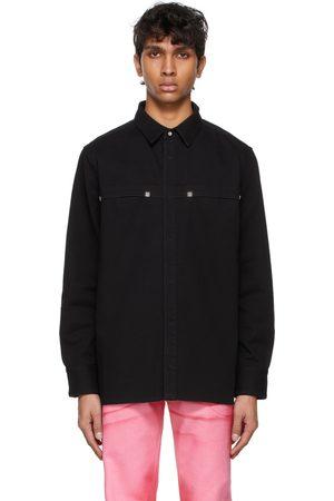 Givenchy Black Denim 4G Rivet Jacket