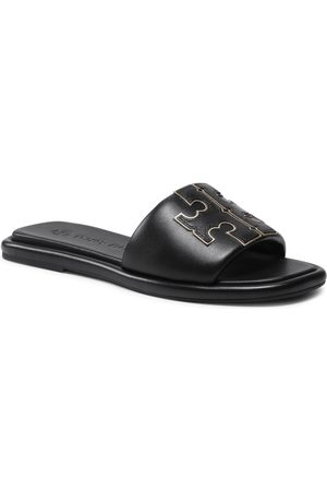 Tory Burch Doublet Sport Slide 79985 Perfect Black/Gold 013