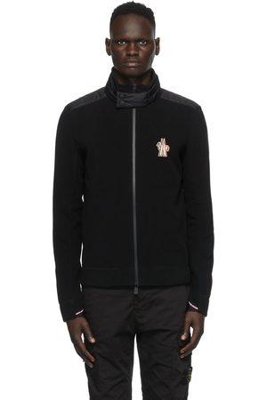 Moncler Herren Strickjacken - Black Cardigan Jacket