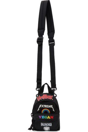 Balenciaga Black Mini Gamer Patch Backpack