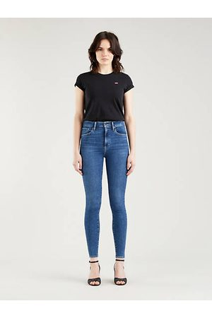 Levi's Mile High Super Skinny Jeans - Dark Indigo / Dark Indigo