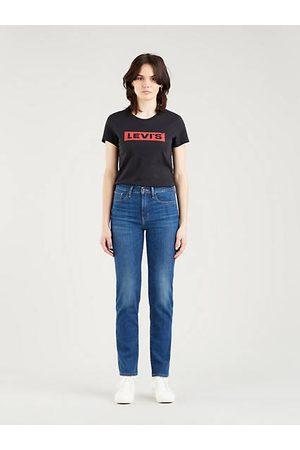 Levi's 724™ High Rise Straight Jeans - Medium Indigo / Medium Indigo
