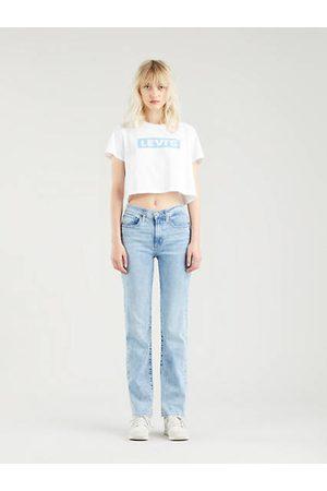 Levi's 724™ High Rise Straight Jeans - Light Indigo / Light Indigo