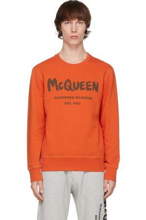 Alexander McQueen Graffiti Sweatshirt