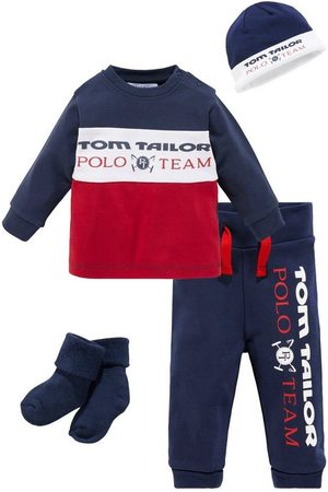TOM TAILOR Neugeborenen-Geschenkset (Set, 4-tlg) aus Bio-Baumwolle