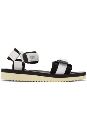 SUICOKE White Cel-V Sandals