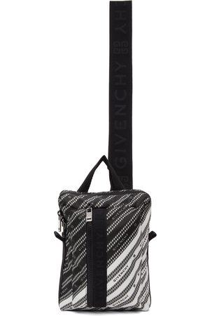 Givenchy Black & White Light 3-Sling Backpack