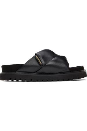 Moncler Black Fantine Sandals