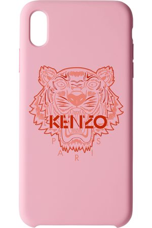 Kenzo Pink & Red Tiger iPhone X+ Case
