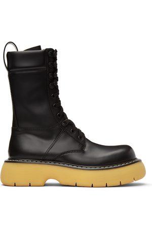 Bottega Veneta Black 'The Bounce' Lace-Up Boots