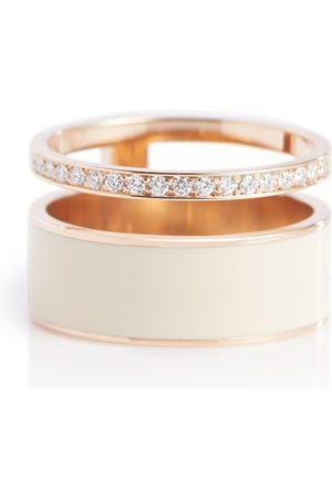 Repossi Ring Berbere Module aus 18kt Roségold mit Diamanten
