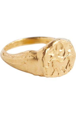 Alighieri Vergoldeter Ring Gemini aus Sterlingsilber