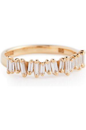 Suzanne Kalan Damen Ringe - Ring Classic Fireworks aus 18kt Gelbgold mit Diamanten