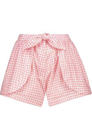 ALEXANDRA MIRO Damen Shorts - Exklusiv bei Mytheresa – Shorts Natalia aus Baumwolle