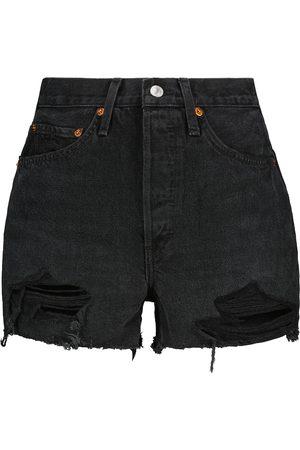 RE/DONE Damen Shorts - Jeansshorts 50s Cutoff