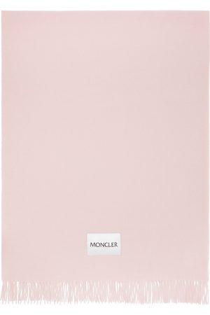 Moncler Pink Large Scarf