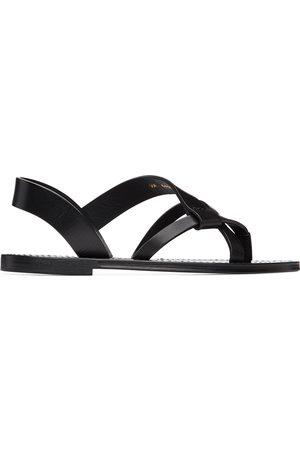 Saint Laurent Herren Sandalen - Black Matt Sandals