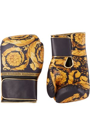 VERSACE Black & Gold Boxing Gloves