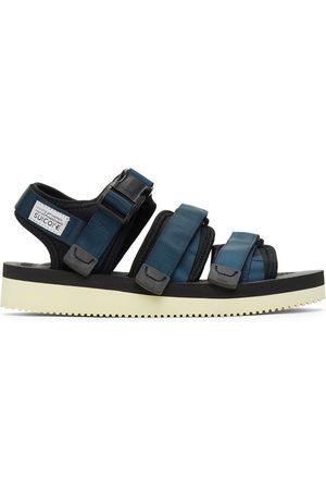 SUICOKE Herren Sandalen - Navy & Black GGA-V Sandals