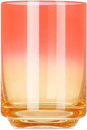 Lateral Objects Pink & Orange Bali Gradient Glass