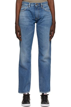 6397 Blue Straight Jeans