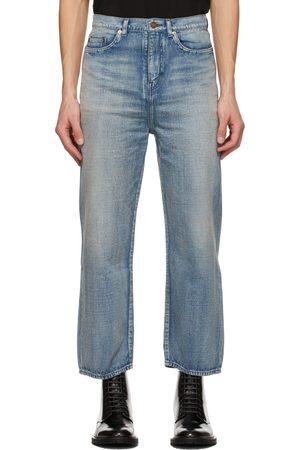 Saint Laurent Herren Stretch - Blue Original Jeans