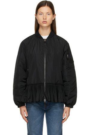 Moncler Damen Bomberjacken - Black Down Mirac Bomber Jacket