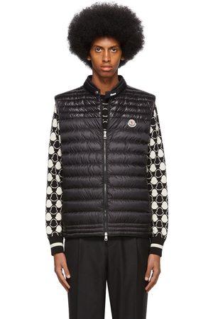 Moncler Black Down Gir Vest