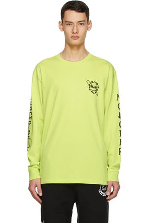 Moncler Genius 2 Moncler 1952 Yellow UNDEFEATED Edition Logo Long Sleeve T-Shirt