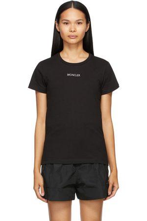 Moncler Black Slim-Fit Logo T-Shirt