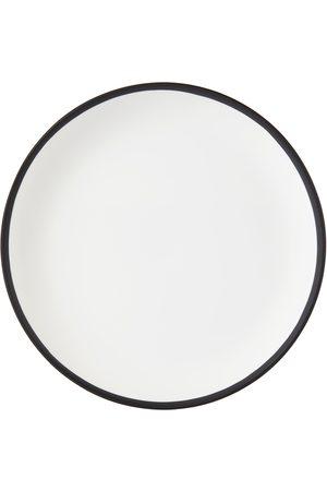 Tina Frey White & Black Salad Plate