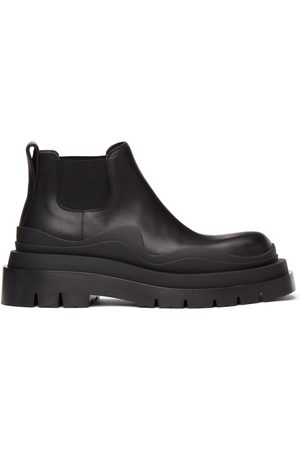 Bottega Veneta Black Low 'The Tire' Chelsea Boots