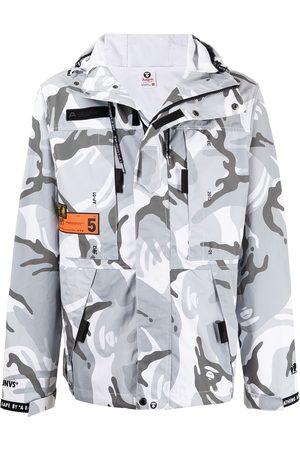 AAPE BY A BATHING APE Herren Sweatshirts - Hoodie mit Camouflage-Print