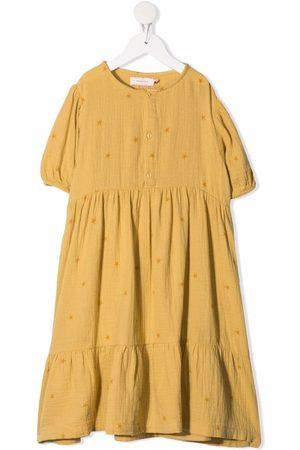 Tiny Cottons Mädchen Freizeitkleider - Gestuftes Kleid mit Sterne-Print