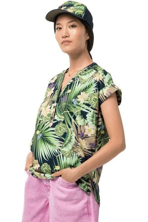 Jack Wolfskin Paradise Shirt Women Funktions-Bluse Frauen L midnight
