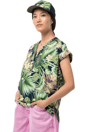 Jack Wolfskin Damen Blusen - Paradise Shirt Women Funktions-Bluse Frauen M midnight
