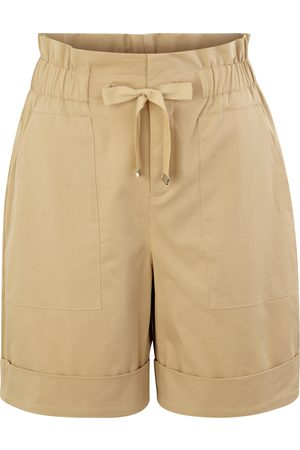 Comma, Damen Bermuda Shorts - Satin-Bermuda