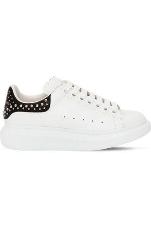 Alexander McQueen 45mm Hohe Sneakers Aus Leder