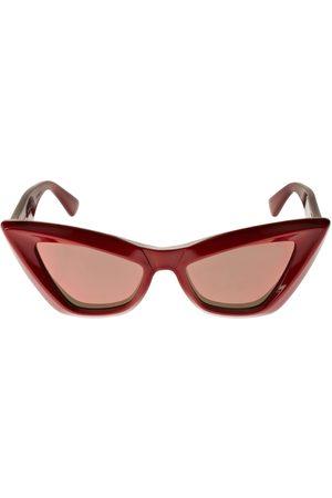 Bottega Veneta Katzenaugen-sonnenbrille