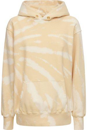 Les Tien Damen Sweatshirts - Kurzes Kapuzensweatshirt Aus Baumwolle