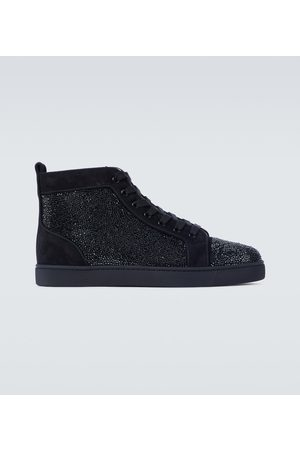 Christian Louboutin High-Top-Sneakers Louis Orlato aus Leder