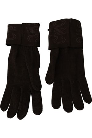 Costume National Wool Knitted Wrist Length Gloves , Damen, Größe: One size