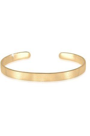 Kuzzoi Herren Uhren - Armband »Herren Basic Bangle Matt 925 Silber«