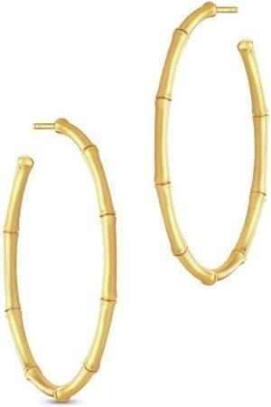 Julie Sandlau Damen Uhren - Bamboo Large Hoops , Damen, Größe: One size