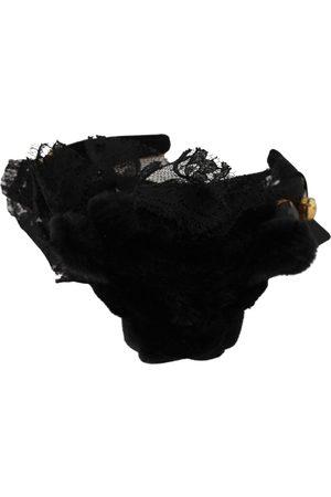 Dolce & Gabbana Bow Silk Tiara , Damen, Größe: One size