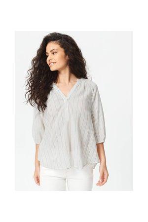 Promod Damen Blusen - Bluse mit vertikalen Streifen