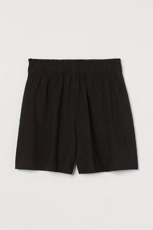 H & M Shorts aus Leinenmix